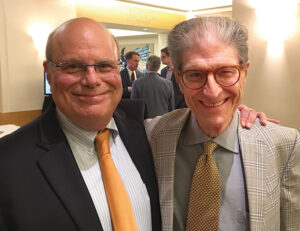 Terry Gilbert and Carlo Wolff at City Club
